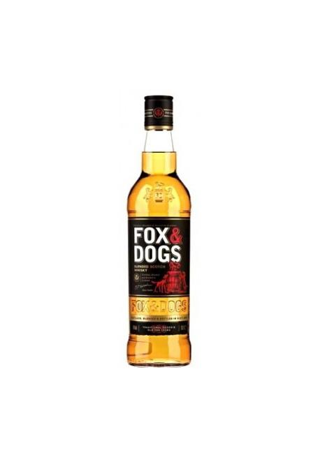 Виски FOX & DOGS, 0,7л