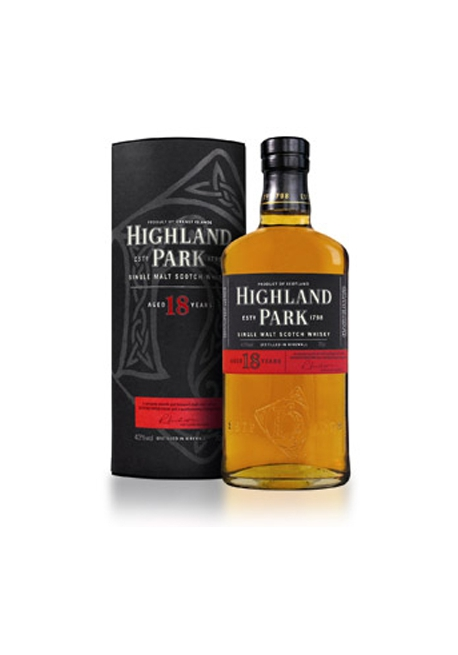 Виски HIGHLAND PARK 18 лет, 0,7л