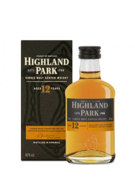 Виски HIGHLAND PARK 12 years, 0,7л