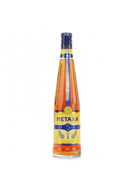 Греческий бренди Metaxa 5*, 0,5