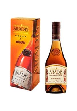 Коньяк ARADIS 5*, 0,5л