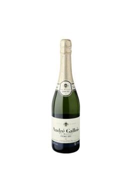 Вино игристое ANDRE GALLOIS Demi-Sec, 0,75л